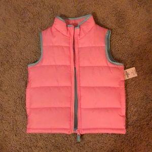 Osh Kosh quilted vest. Size 4